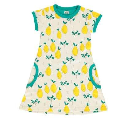 Meyadey T-Shirt Kleid leavy lemon Zitrone bei Kleidermarie.de