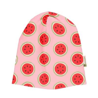 Maxomorra Mütze hat regular water melon rosa
