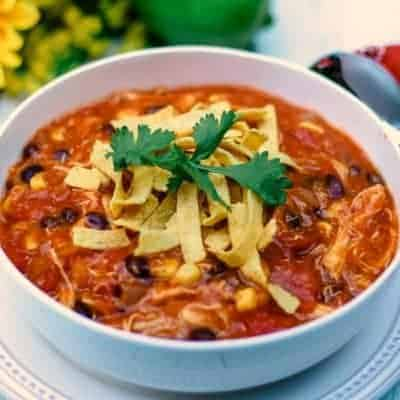 Easy-Cheesy Chicken Enchilada Soup | Life, Love, and Good Food