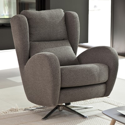 Romeo fabric chair from Fama