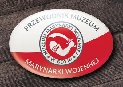 przypinka owalna muzeum marynarki wojennej