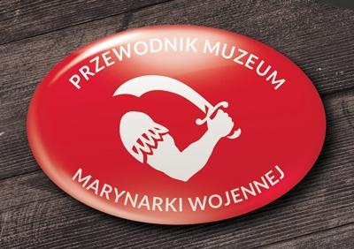 przypinka elipsa muzeum marynarki wojennej