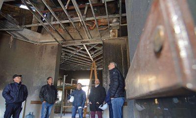 """La reparación de Casa de Gobierno """"será larga porque son muchos daños"""""""