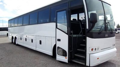 Full size 50-57 seater Coach Bus with toilet