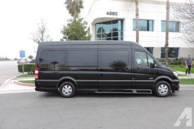 luxury 10,12,14 passenger Mercedes sprinter van for hire in DC, MD, VA