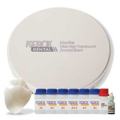 uht super translucido zirconia circonio kerox