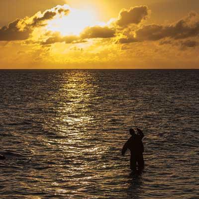 solopgang havørred kystfluefiskeri jesper vang møller