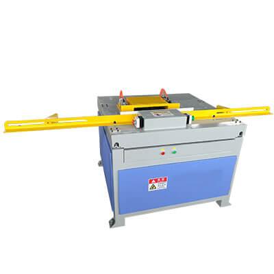 single slot pallet stringer notching machine