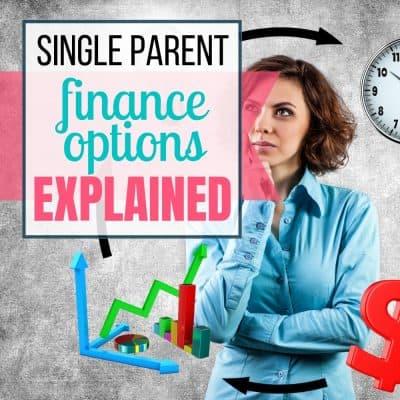 single parent financial options