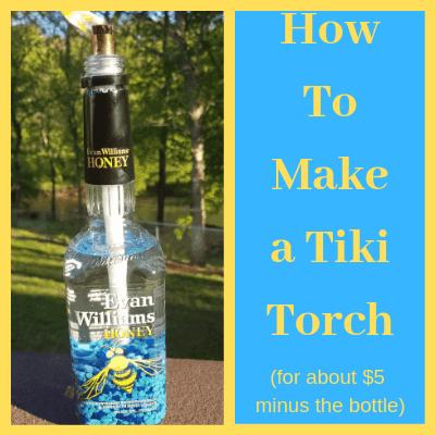 Make a DIY tiki torch