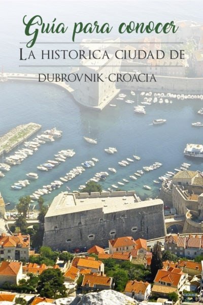 Cosas que Ver en Dubrovnik, Croacia, en un Día