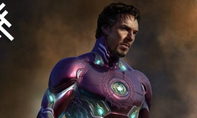 Doctor Strange in Iron Man Suit