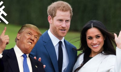 Donald Trump Megan Markel Prince Harry