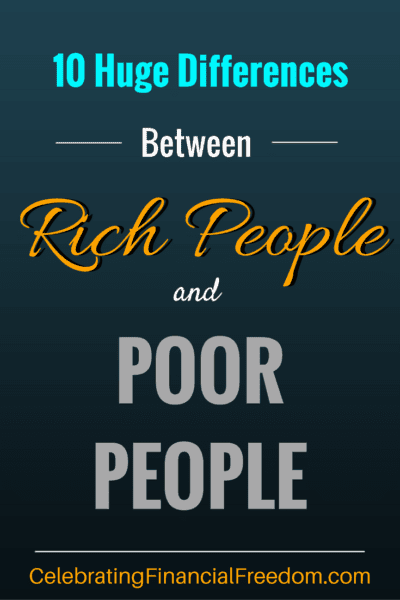 10 Huge Differences Between Rich People and Poor People