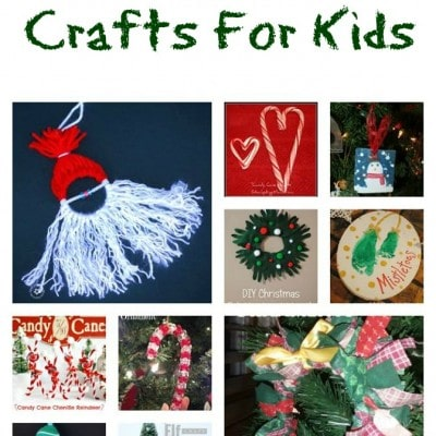 30 Christmas Crafts For Kids