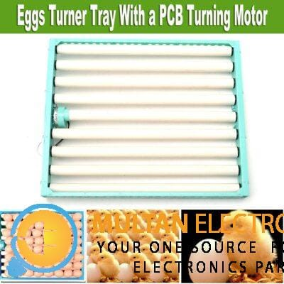 Eggs Automatic Poultry Hatch Chicken Quail Duck Incubator Turner Tray Turning