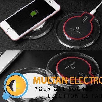 Qi Wireless Charger Pad for Android iPhone X/8/Pl