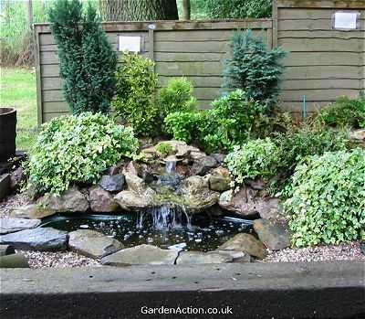 Delicieux Au Naturale Small Pond Waterfall Ideas