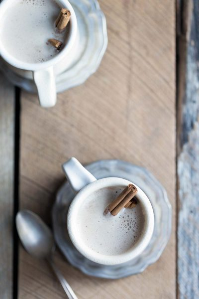 Hot Buttered Bourbon is a new twist on a classic winter cocktail that will keep you warm and cozy during the cold winter!