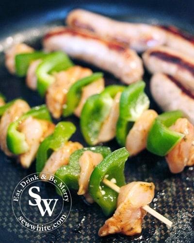 Sew White Heinz BBQ chicken marinade recipe 3