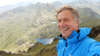 walking holidays in Europe, the natural adventure blog, walking tours in europe, Peter Duncan on route in Montenegro,peter duncan, co-founder of the natural adventure company