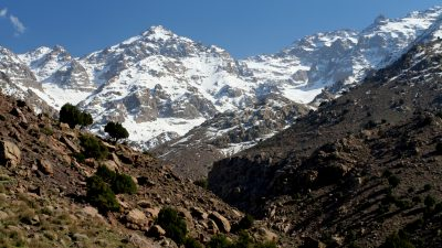 High Atlas and Mount Toubkal, mount toubkal hiking, trkking to mile toubkal, climbing mount toubkal, high atlas walking holiday