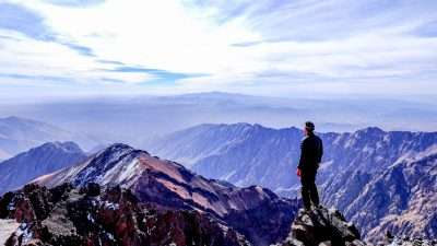 Highest Peaks of Atlas Mountains