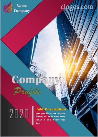 Editable Company Profile Template Word