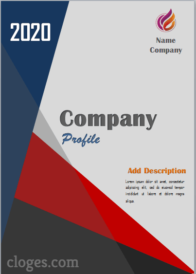 Simple Company Profile Free Word Template