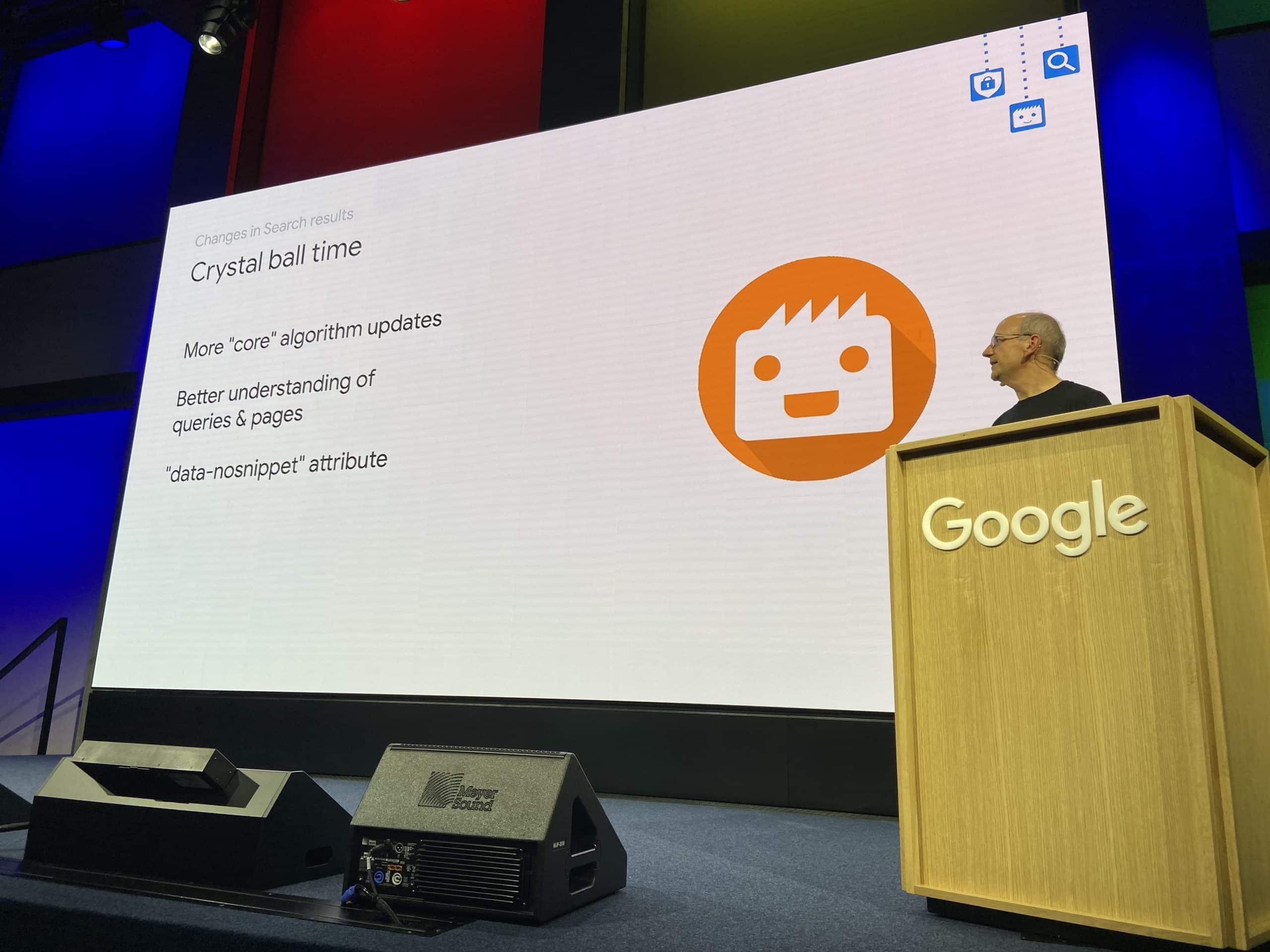 Google predictions from John Mueller for 2020