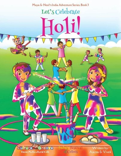 Let's Celebrate Holi Ajanta Chakraborty