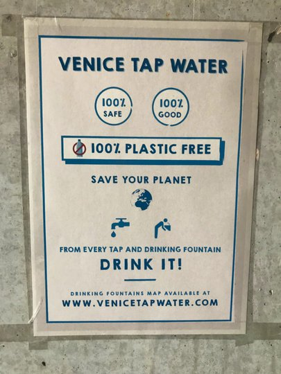 Venice tap water is safe – Experiencing the Globe