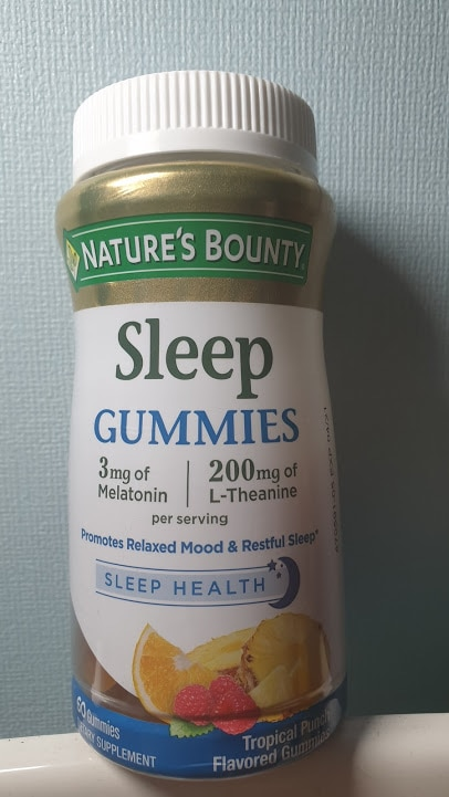 """Kẹo ngủ"" Sleep Gummies by Nature's Bounty"