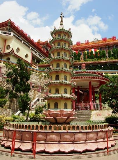 Kek Lok Si temple, Penang,Malaysia. Possibly the prettiest temple in the whole of Malaysia.
