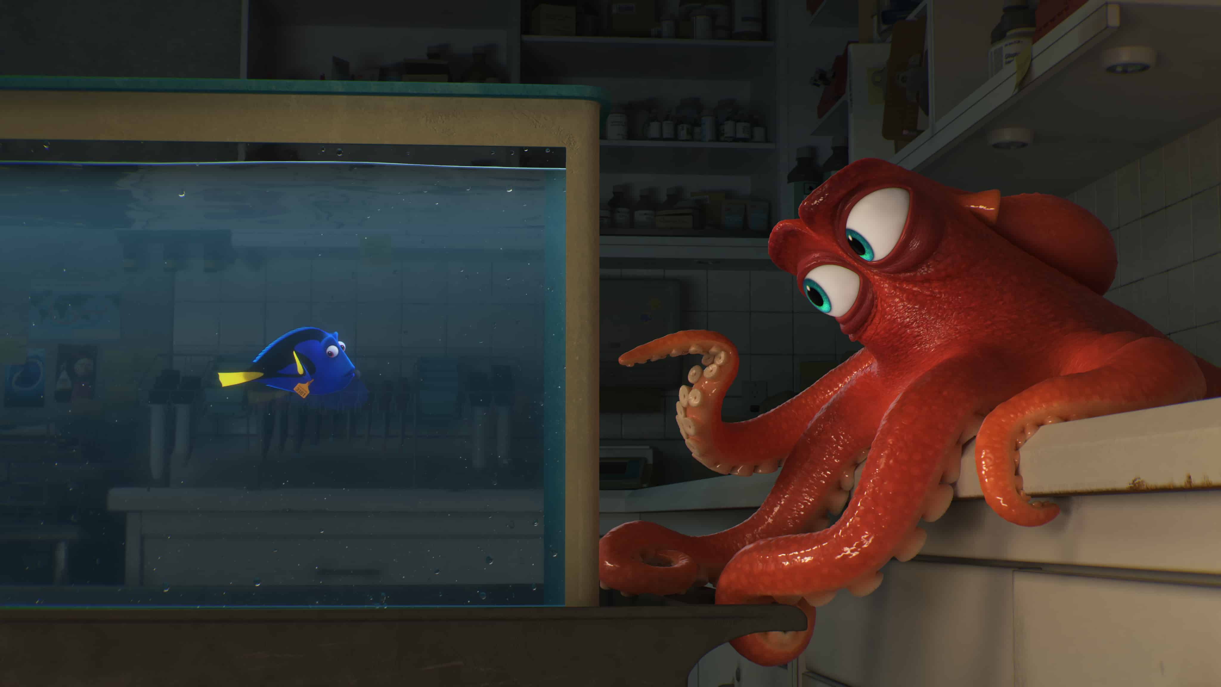 New Finding Dory Activity Sheets