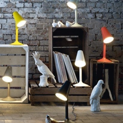 Moderne LED Tischleuchte