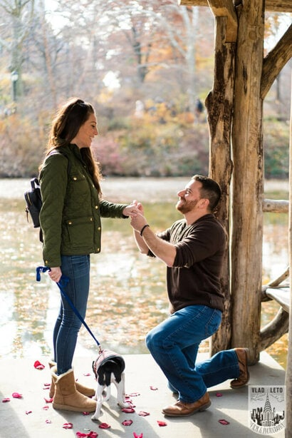 Photo 7 Wagner Cove in Central Park Mariage proposal | VladLeto