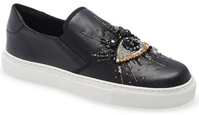 Kurt Geiger London Eye Slip-On Sneaker | 40plusstyle.com