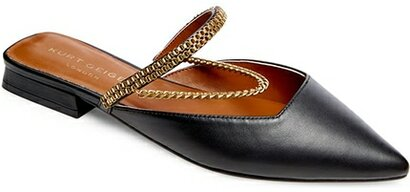 Shoes with arch support - Kurt Geiger London Polly Pointed Toe Mule | 40plusstyle.com