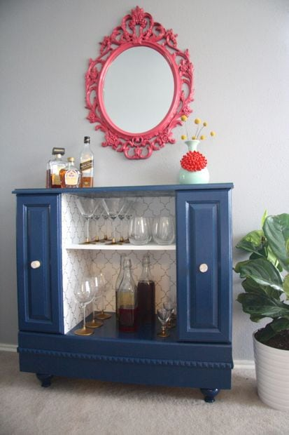 how to make a bar cart