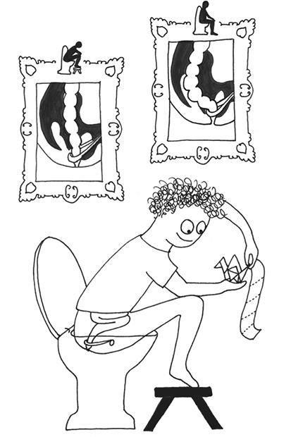 Jill Enders Illustration angle ano-rectal