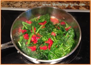 Sautee Spinach 3