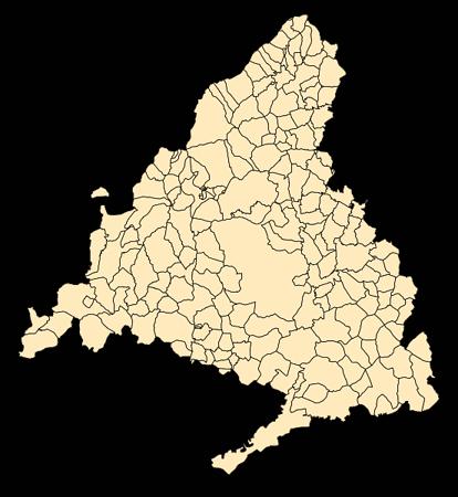 mapa de servicio técnico de lavavajillas Balay