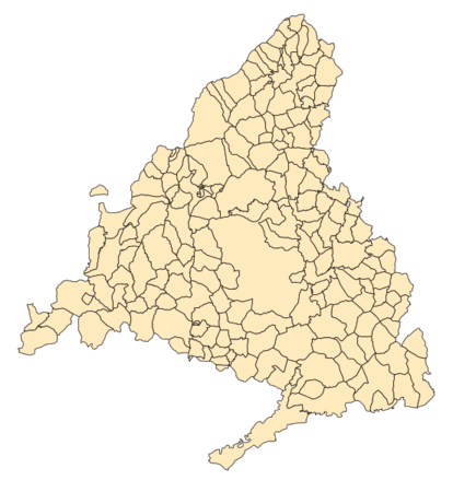 Servicio técnico de vitrocerámicas mapa madrid