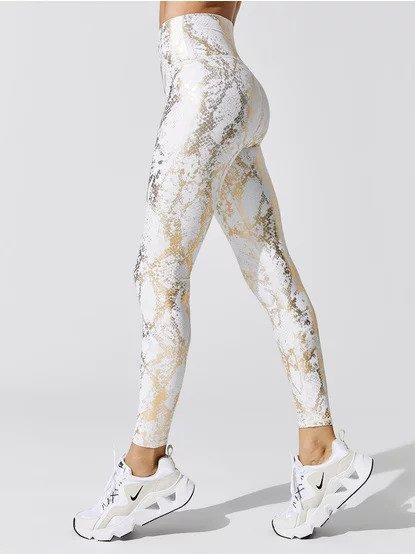 A look at the carbon38 metallic snakeskin legging
