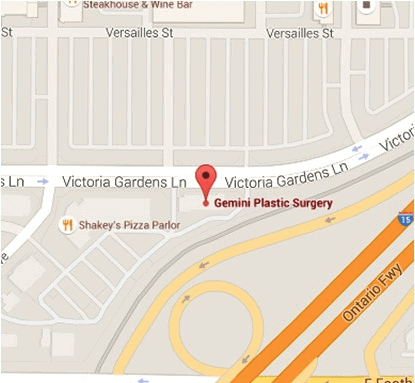 Gemini Plastic Surgery Rancho Cucamonga Address and Directions Information