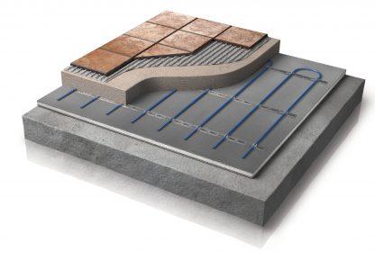 Warmup betonkabel systeem