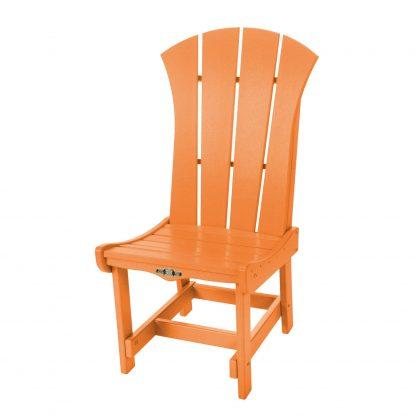 Sunrise Dining Chair- Orange