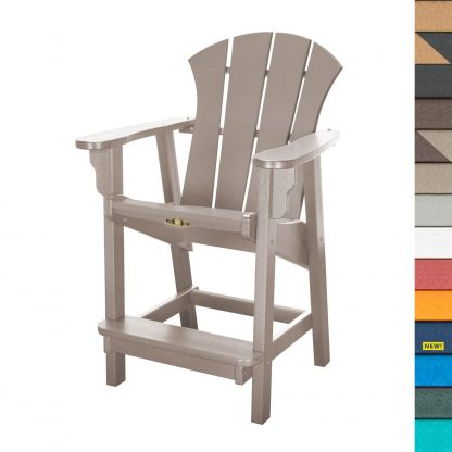 Sunrise Counter Height Dining Chair with Navy