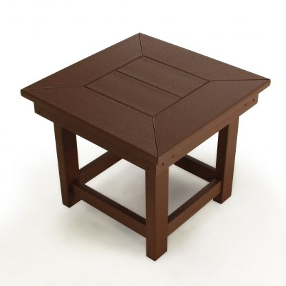 Durawood Deep Seating Side Table - DSST-K - Chocolate